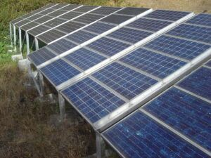 Solar power is one clean electricity source.