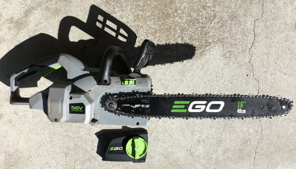 Ego Chainsaw Review Partially Assembled