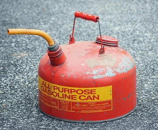 Spilling gasoline is one significant source of pollution.
